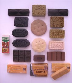 Borrachas - food erasers | Flickr - Photo Sharing!