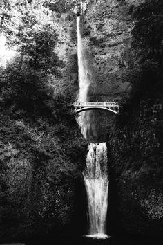 multnomah falls, near Portland