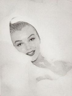 """audreyandmarilyn: """"""""Marilyn Monroe photographed by Andre De Dienes at the Bel Air hotel, 1953"""" """" Andre de Dienes (born Andor György Ikafalvi-Dienes, 1913 –1985) was a Hungarian photographer, noted for his work with Marilyn Monroe and his nude..."""