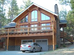 Idyllwild Vacation Rental - VRBO 428685 - 3 BR Inland Empire Lodge in CA, Magnificent Finnish Log Home with Sauna - Welcome to Relax !