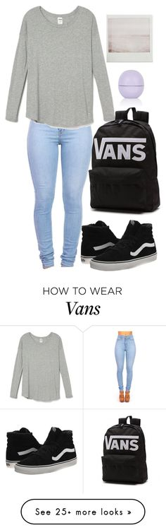 """Untitled #1172"" by chelseamegan on Polyvore featuring Vans, Topshop, women's clothing, women's fashion, women, female, woman, misses and juniors"