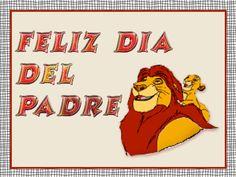 Rey león Feliz día del Padre