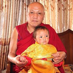 His Eminence the 10th Sangye Nyenpa Rinpoche and the Very Venerable 4th Kyabje Tenga Rinpoche