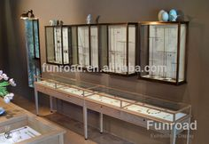 Source Bespoke Stainless Steel Plating Frame Jewellery Wall Display Counter on m.alibaba.com