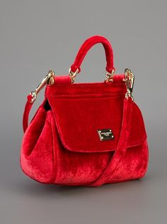 DOLCE & GABBANA - Bolsa vermelha.