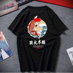 T-shirt Harajuku Carpe Carpe, Love Is Sweet, Japanese Fashion, Fashion Men, Harajuku, Street Wear, T Shirt, Asian, Mens Tops
