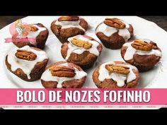 BOLO DE NOZES FOFINHO SEM FARINHA, SEM GLÚTEN E SEM LACTOSE - Amor Pela Comida   Reeducação Alimentar com a Chef Susan Martha