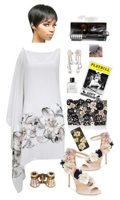 """""""Night on Broadway"""" by lmello on Polyvore featuring Accessorize, Imagine by Vince Camuto, BaByliss and Tom Daxon"""