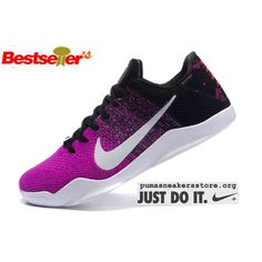 promo code 19434 135db Discount Nike Kobe Shoes - 2016 Latest Nike Kobe 11 XI Elite Low Mens Basketball  Shoes Purple White Black Free Shipping 74CT4nE