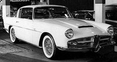 Alfa Romeo 1900 CSS Aigle coupe concept 1958
