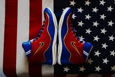 Custom Nike Inflict Wrestling Shoes Size 9 5 | eBay
