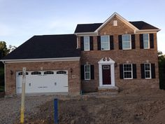 Closing in 1 week 6/16/2014 Ryan Homes Palermo model Elevation A