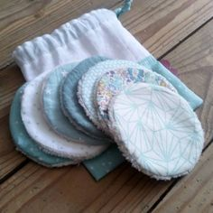 Do It Yourself Upcycling, Sewing Crafts, Sewing Projects, Makeup Remover Pads, Organic Cleaning Products, Creation Deco, Bee Gifts, Sewing Lessons, Craft Sale