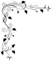 Wedding clip art black and white border clipart panda free black and white flower border clipart mightylinksfo