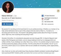 Online bio writing service