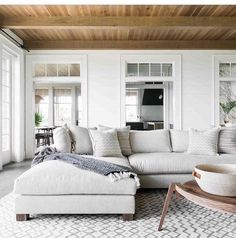 I want a wide, soft couch like this.
