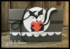 Pink Buckaroo Designs: Foxy Friends Stamp Club July Project and Class to Go