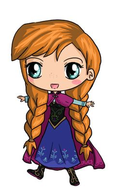 Cute Anna chibi