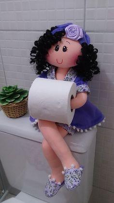 Muñeca porta papel                                                                                                                                                                                 Más