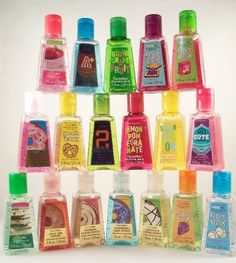 Antibacterial Hand Gels from Bath and Body Works