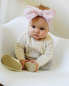 Tutorial: Oversized bow headband for baby
