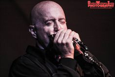 Legendary harmonica player Kim Wilson of The Fabulous Thunderbirds at The Cotillion.