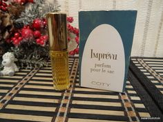 Imprevu Coty 5ml. Perfume Vintage by MyScent on Etsy
