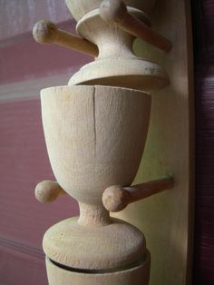 Would make great props for a bread communion ceremony.....Vintage+polish+wooden+cups+by+Artcapades+on+Etsy,+$8.00
