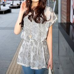 translucent blouses :)