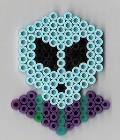 Alien Bügelperlen hama perler beads