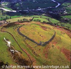 Caer Drewyn Hill Fort, 1 m NE of Corwen, WPT 126, North Wales