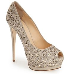 GIUSEPPE ZANOTTI sharon platform pump found on Nudevotion