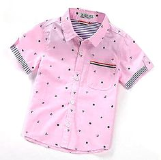 Summer Short Sleeve Boy's Shirts Casual Turn-down Collar Camisa Masculina Blouses For Children Kids Clothes 1461 Boys Summer Shirts, Summer Boy, Boys Shirts, Spring Summer, Baby Boy Dress, Baby Boy Outfits, Kids Clothes Boys, Kids Fashion Boy, Collar Shirts
