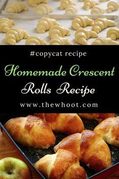 Homemade Crescent Rolls Recipe Easy Video Tutorial