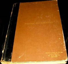 1921-Steamer Pocahontas LOGBOOK~Passengers and Cargo-historic ship-fire-Naples