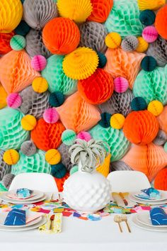 Colorful Modern Birthday Party