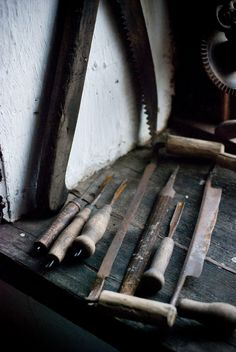 Old Sculpting tools that I still used and are used today