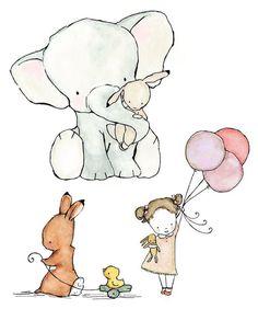 Animal Nursery Art