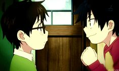 Brothers ^-^ | Blue Exorcist (gif)