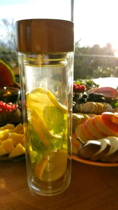 I love this bottle! So great for fruit infusions. Glass tea bottle, loose leaf tea infuser, tea tumbler, glass water bottle --- you name it! Perfect Image, Perfect Photo, Love Photos, Cool Pictures, Fruit Infused Water, Tea Infuser, Loose Leaf Tea, Nalu, Tumbler