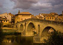 Puente románico de Puente la Reina.