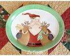 Travessa papai Noel e renas