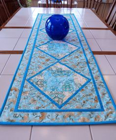 Quilted Patchwork Table Runner Patchwork Table Runner, Quilts For Sale, Custom Quilts, Table Runners, Collaboration, Display, Boutique, Board, Prints