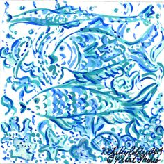 Our #lilly5x5 is wearing blue today. #WorldAutismAwarenessDay