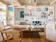 Hoshinoya, Japan Rockaway Park, Rockaway Beach, Wooden Table Top, Teak Table, Queens Nyc, Rooftop Restaurant, Interior Design Magazine, Sofa Upholstery, New York