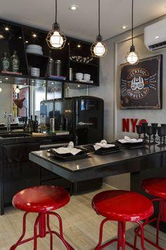 CYRELA_Marquês de itú : Salas de jantar modernas por Claudia Albertini & Chris Silveira Arquitetos