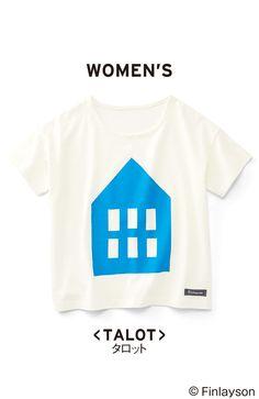 フィンレイソン モチーフプリントTシャツ〈レディース〉の会