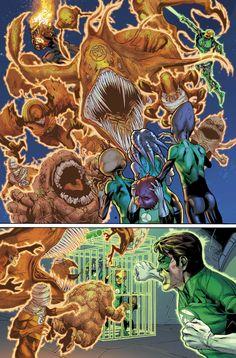 Green Lantern #22, pg. 1