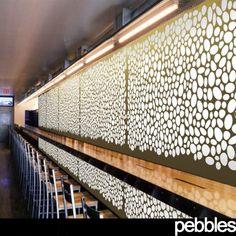 Pebbles Screen | Architectural Screens | Yellow Goat Design - Custom Lighting