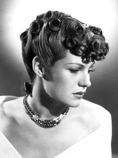 1930's hairstyles for women | Hairstyles » Blog Archive » Beautiful 1940s hairstyles for women